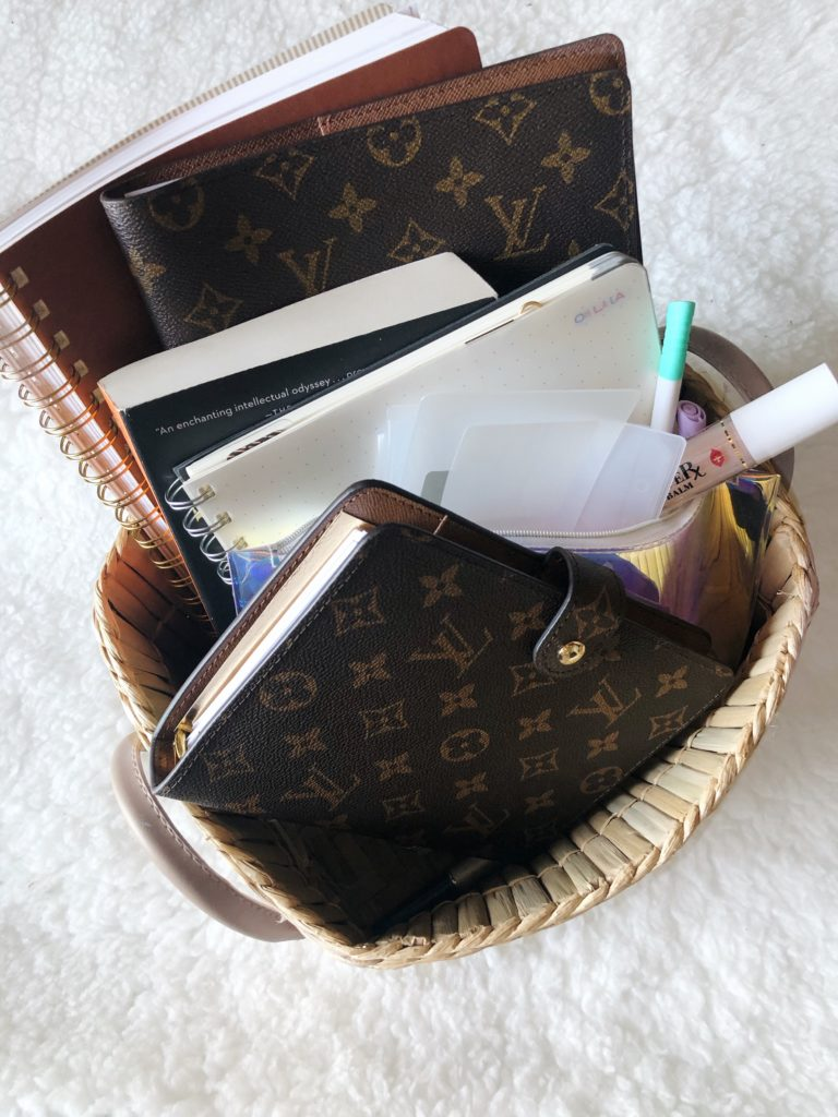 work from home louis vuitton desk agenda mm planner tips outfit maebad productivity tips